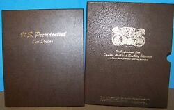 Us Presidential Dollar P And D 80 Coins Complete Set In Dansco 7184 W/sleeve