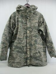 Orc Industries Parka Improved Rainsuit Airforce Tiger Stripe And Button In Liner M