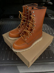 New Red Wing 8moc Oro Legacy Lace Up Womens Boots 3427 Made In Usa Boots 8.5 B
