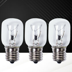 3 Pack Of High Temp Oven Light Bulb Microwave Stove Sewing Machine Led Lamp 40w