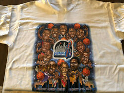 All-star Game Caricature Ny Short Sleeve White Unisex S-234xl T-shirt W264