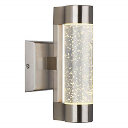 Artika Amp105-rnss Essence Bubble Glass Indoor/outdoor Led Wall Sconce Light,