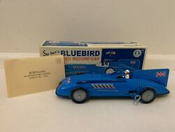 [new] Sir Ianand039s Bluebird Land Speed Record Tin Wind-up Car 11 Long Schylling