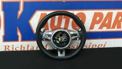 15 Porsche 911 Gt3 Steering Wheel Assembly With Paddle Shifter Sport Design 840