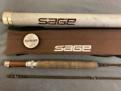 Sage Gfl 680 Graphite Fly Rod - 8and039 - 2pc 6 Line In Great Shape Vintage
