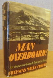 Man Overboard An Inspector French Detective Story 1936 Red Badge Mystery