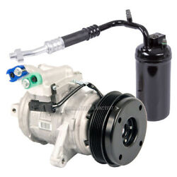 Oem Ac Compressor W/ A/c Drier For Jeep Grand Cherokee 1999-2001