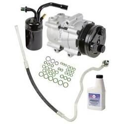 For Lincoln Mark Viii 1993-1996 Ac Compressor W/ A/c Repair Kit Csw