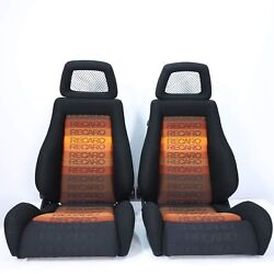 Used Genuine Recaro Ls-c Fishnet Great Immaculate Condition Seats Discontinued