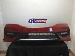 16-17 Honda Accord Sport Oem Front Bumper Assembly Painted Red With Fog Lights