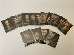 2012 Sdcc Comic Con Twilight Breaking Dawn Part 2 Promo Trading Card Set -sealed