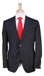 Isaia Napoli Recent Gray Checkered Super 170's Wool 15 Micon 2-btn Slim Suit 42r