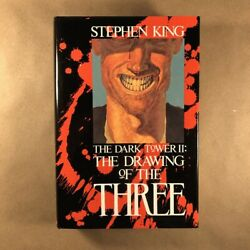 The Drawing Of The Three By Stephen King First Edition, Hardcover In Jacket