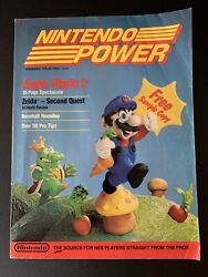 Nintendo Power Magazine Issue 1 Premiere Issue 1988 Gd Poster And Map Player Poll