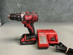 Milwaukee M18 Compact 1/2 Drill Driver 2602-20 W/1.5ah Battery And Charger