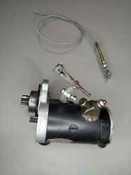 Delco-remy 1109656 12v Pull Starter Assy Continental C85 Removed From Cessna 120
