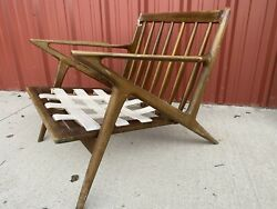Poul Jensen For Selig Mid Century Z Lounge Chair Project