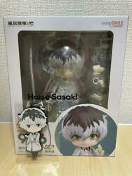 Nendoroid Tokyo Ghoul Re Sasaki Exclusion Figure With Limited Rubber Strap New