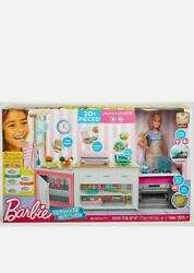 Barbie Doll Playset Ultimate Baking Kitchen On Multiple Spaces Real Accessories