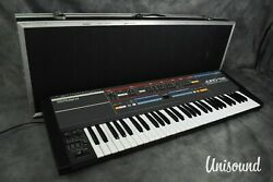 Roland Juno-106 Programmable Polyphonic Synthesizer W/ Hard Case [excellent]