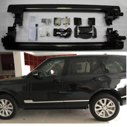 Deployable Electric Running Board Side Steps Fit For Lr Range Rover 2013-2017