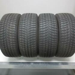215/55r16 Michelin X-ice Xi3 97h Tire 9/32nd Set Of 4 No Repairs