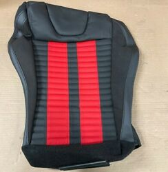 Nos 2013-2014 Ford Mustang Oem Right Recaro Seat Cover Black/red Dr3z6362900ca