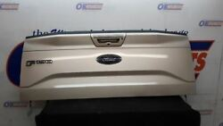 2017 Ford F150 Lariat Oem Tailgate Assembly Gold With Step And Camera