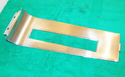 1967 Mustang Fastback Coupe Gta Convrt Orig A/t Console Shifter Trim Plate Bezel