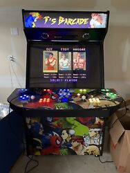 4 Player 40andrdquo Mame Arcade Cabinet