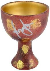 Harrison Ford Indiana Jones Autographed Holy Grail Cup Bas