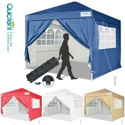 Quictent 10and039x10and039 Ez Pop Up Canopy Tent Heavy Duty Commercial Folding Gazebo Us