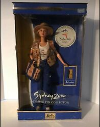 Barbie Sydney Olympics 2000 Pin Collection - Never Opened - Box Dented