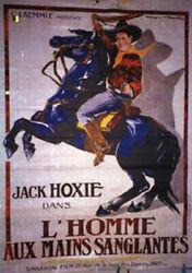 The Red River / Jack Hoxie / 1925 / Karl Laemle / Movie Poster/62