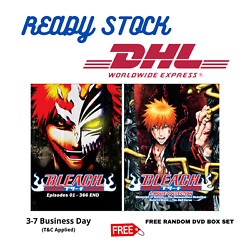 Anime Dvd Bleach Complete Series Episode 1 - 366 + Movie English Dub And Sub