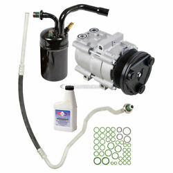 For 1998 Lincoln Mark Viii Oem Ac Compressor W/ A/c Repair Kit Csw