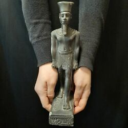 Bc Pharaonic Egyptian Antique Antiques Egypt Antiquities Figurine Statue -i266
