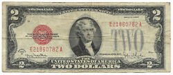 1928 G 2 Two Dollar Bill Us United States Note Fr1508 - You Grade It