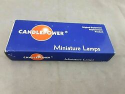 Candlepower 1157r Single Filament Red Replacement Light Bulbs 12v 10pk