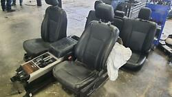 2015-2017 Ford F150 Front Seat Bucket W/bag Leather Electric Heat