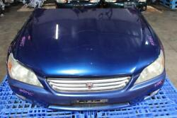 Jdm 98-05 Toyota Altezza / Is300 Front End Nose Cut Hood Fenders Headlights Blue