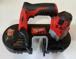For Parts- Milwaukee M12 Cordless Sub Compact Band Saw 2429-20 Tool Only