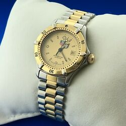 Tag Heuer 2000 Professional Series Two Tone Stainless Steel Lady's Quartz Watch