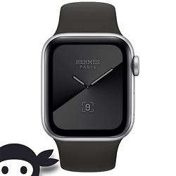 Apple Watch Series 5 44mm Hermes Edition Silver Or Black Stainless Steel