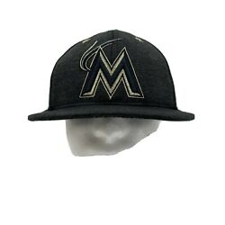 2017 Asg Hosted By Miami Marlins Mlb Cap Hat All-star Game Sz 7 3/8 New Era