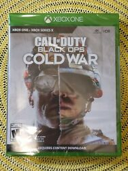 🔥 Call Of Duty Black Ops Cold War - Microsoft Xbox One Series X Factory Sealed
