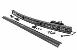 Sandd 54-inch Curved Cree Led Light Bar - Dual Row | Black Series W/ Cool White