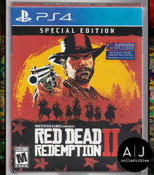 Red Dead Redemption 2 - Sony Playstation 4 Ps4 Special Edition