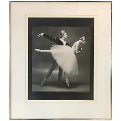 Max Waldman Limited Edition 1974 Ballet Silver Gelatin Print With Giselle 5/25
