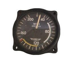 Supaire Us Gauge Co. Airspeed Indicator Pn Aw 2 3/4 16 Bf Untested